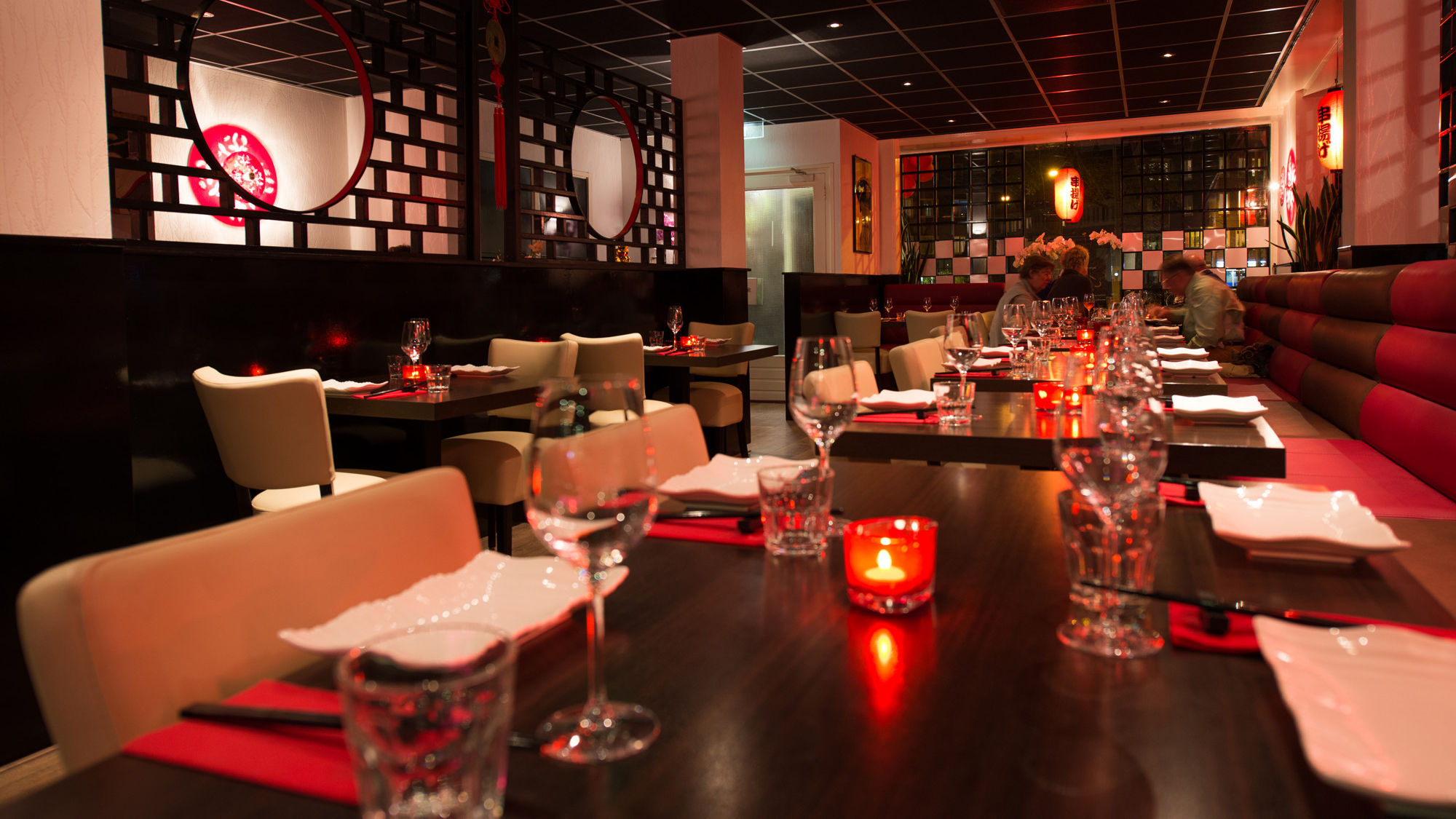 Asian flavours interieur